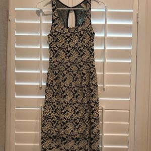 Lace and Navy Dress